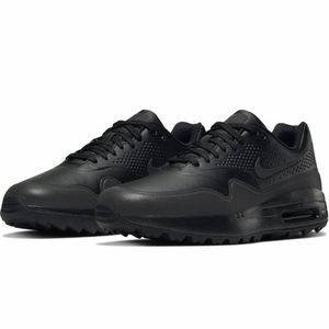 Mens air max 1 one golf shoes black size 8
